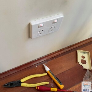 double power point DCN Electrical Sydney Electrician